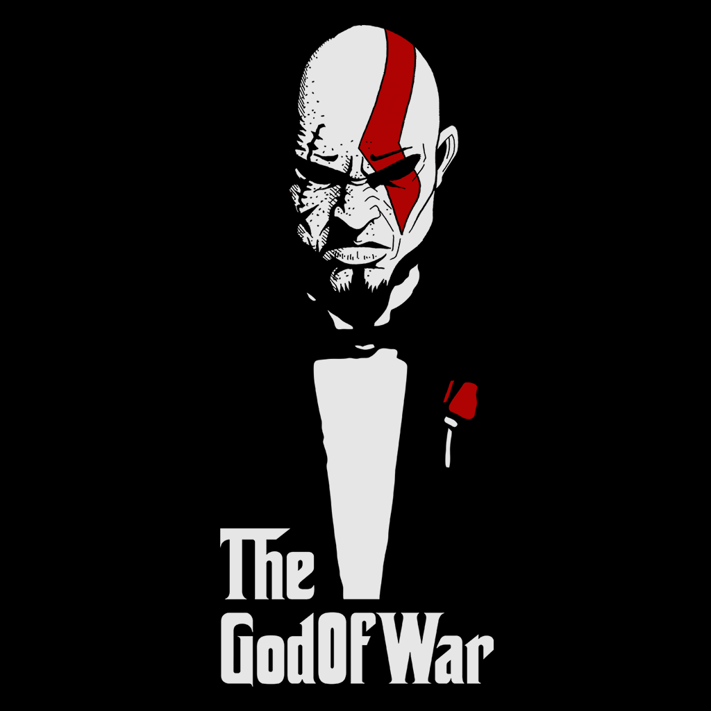 Pop-Up Tee: God Of War And Death