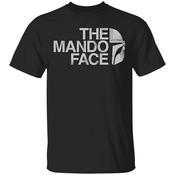 Pop-Up Tee: The Mando Face