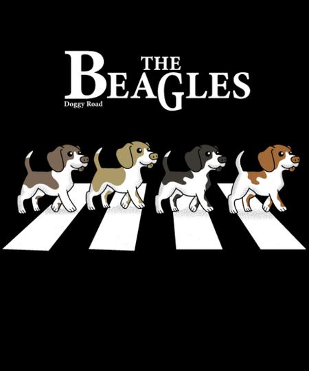Qwertee: the beagles
