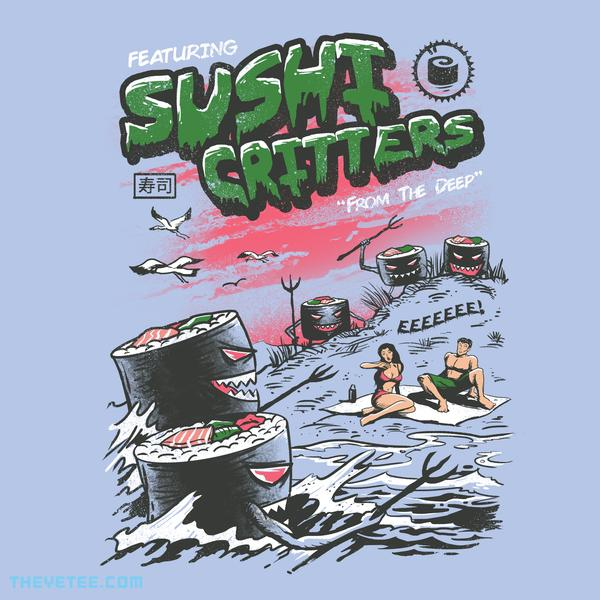 The Yetee: Sushi Critters