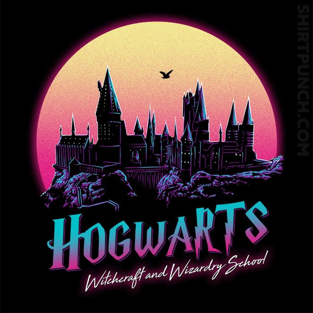 ShirtPunch: Old School Of Magic
