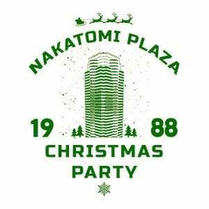 BustedTees: Nakatomi Plaza Christmas Party Raglan