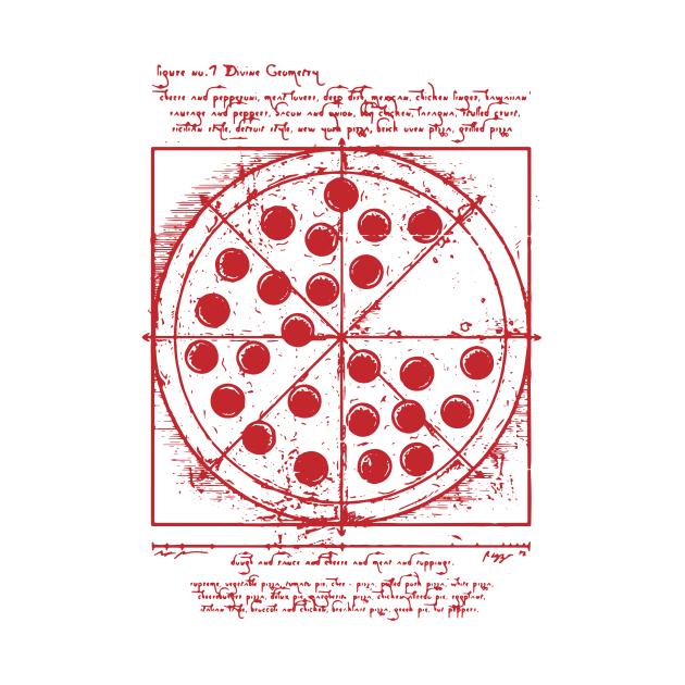 TeePublic: Pizza Da Vinci - Pizza Lover