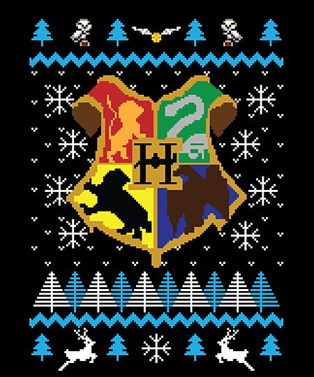 Qwertee: Magic Christmas