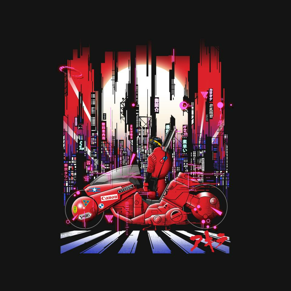 TeeFury: Neon Akira