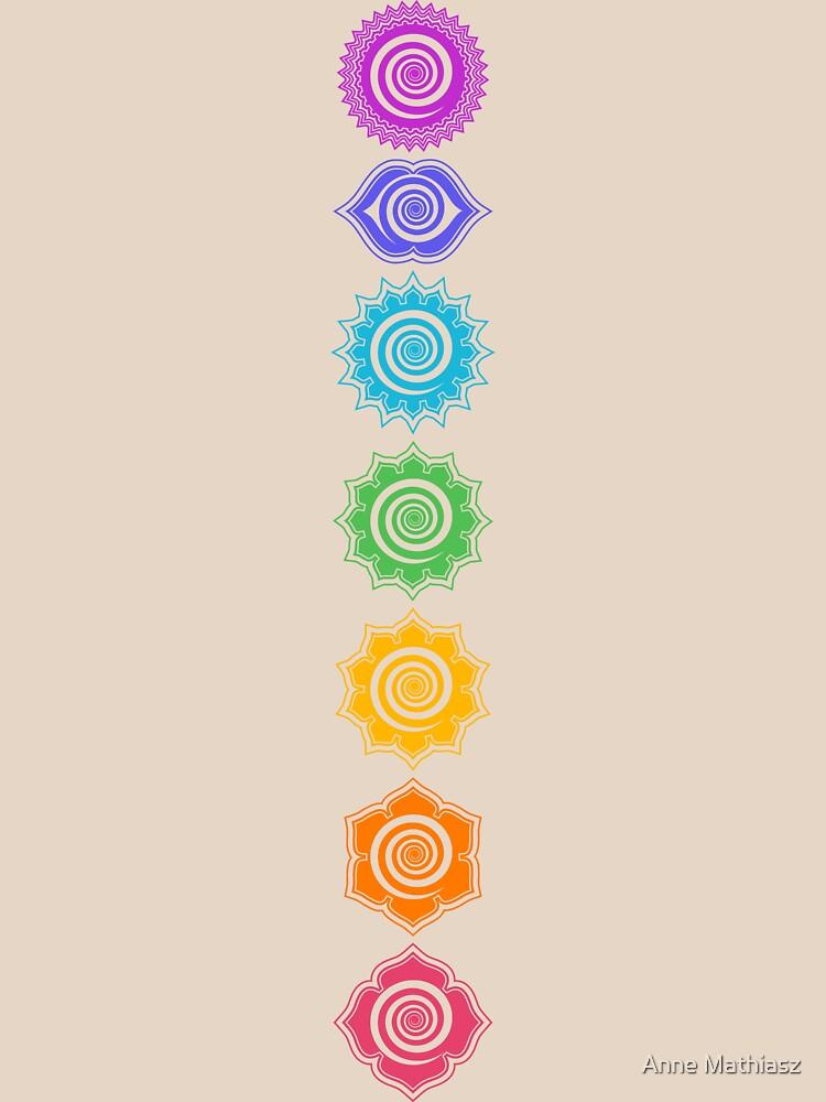 RedBubble: 7 Chakras - Cosmic Energy Centers