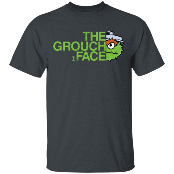 Pop-Up Tee: The Grouch Face