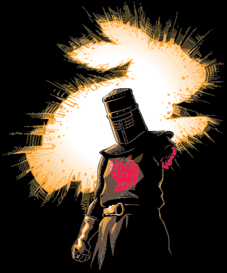 Qwertee: The Black Knight Rises