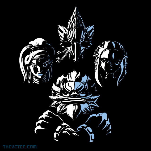 The Yetee: Champions Rhapsody
