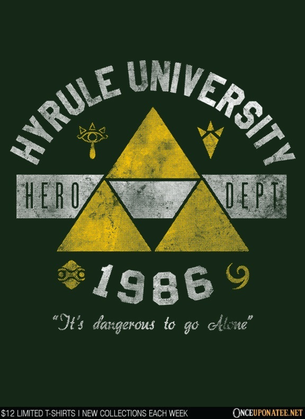 Once Upon a Tee: Hyrule University