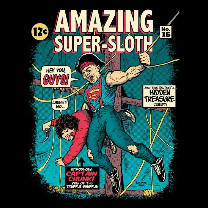 Once Upon a Tee: Amazing Super Sloth
