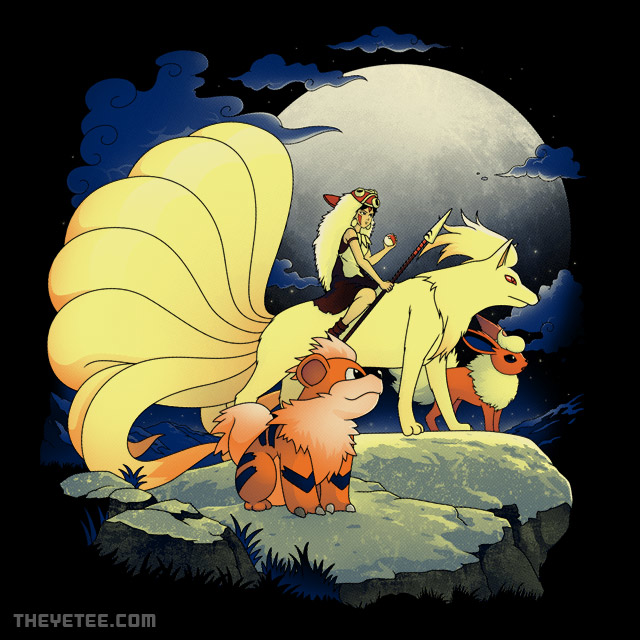 The Yetee: Canidae Princess