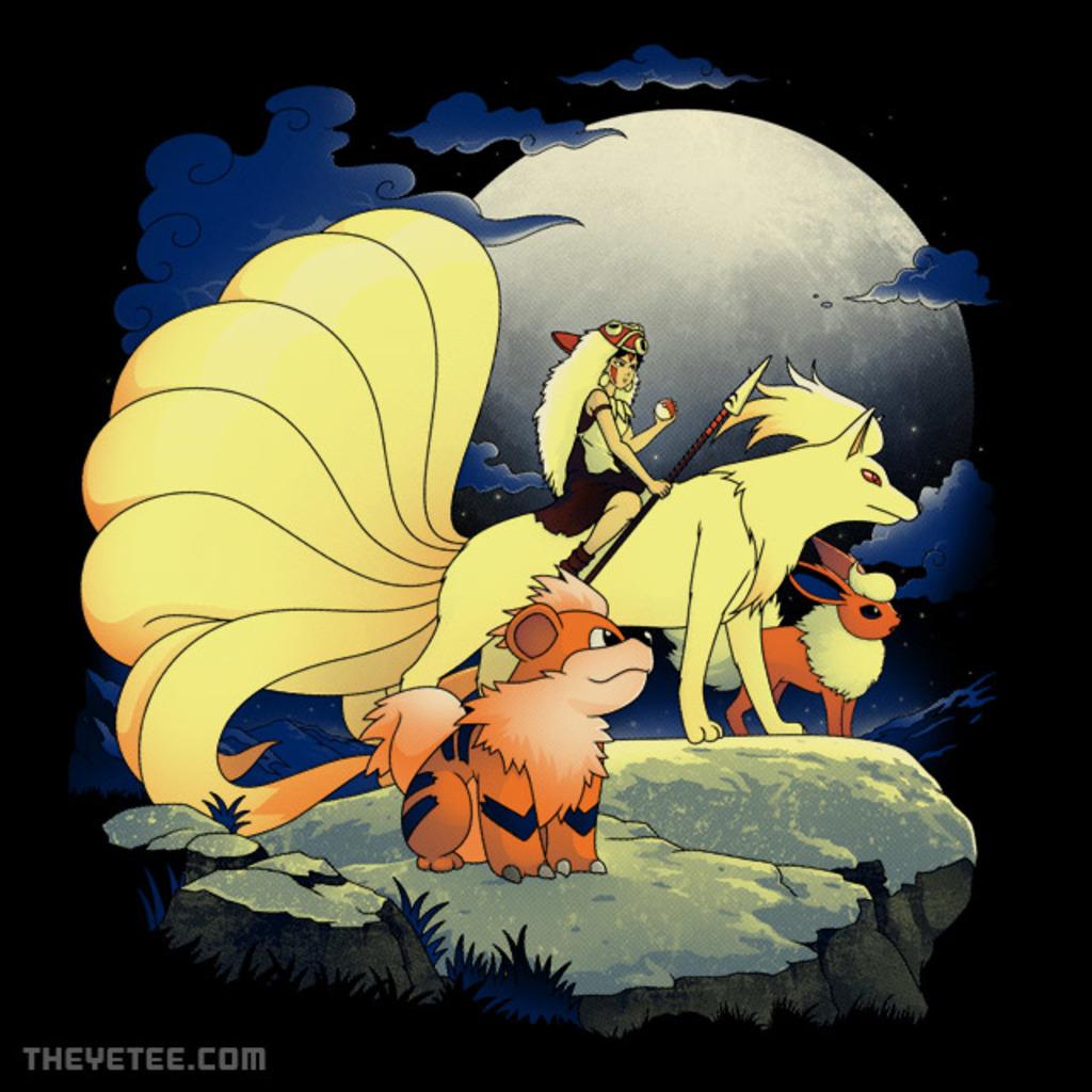 The Yetee: Canidae Princess