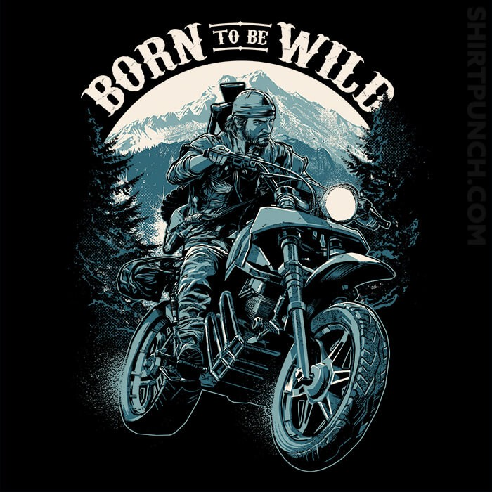 ShirtPunch: Born To Be Wild Deal
