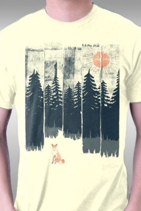 TeeFury: Fox In the Wild