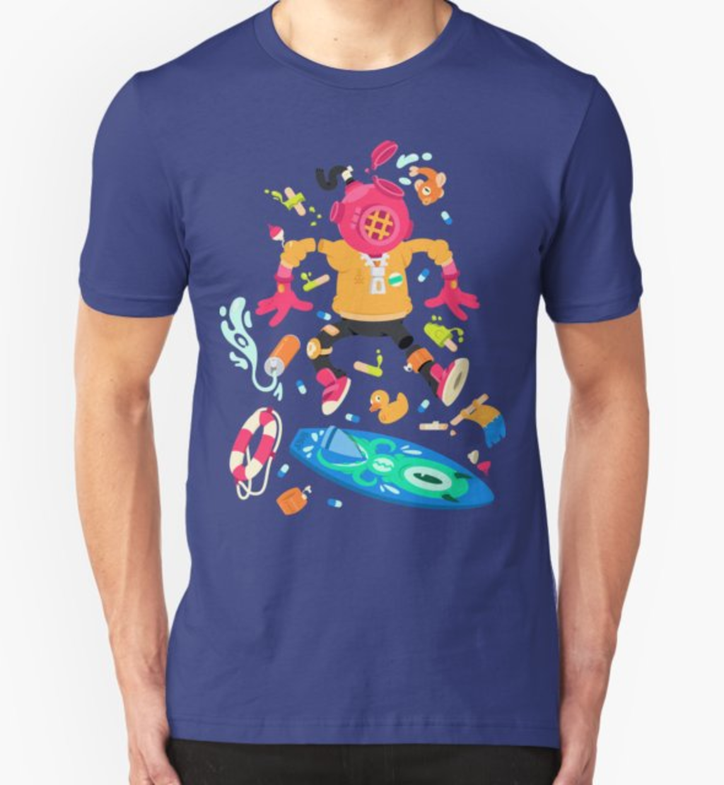 RedBubble: The Skaters #1 : Diver