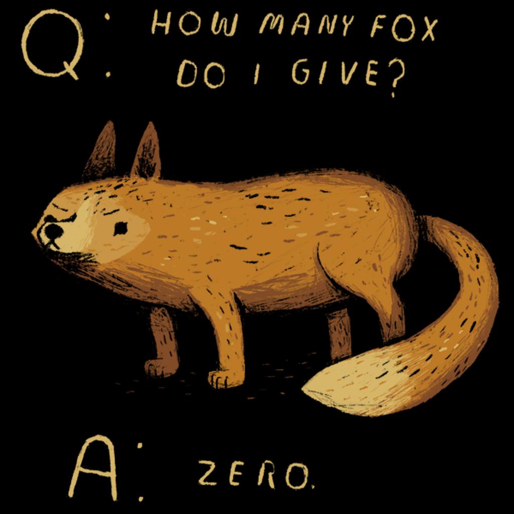 NeatoShop: how many fox do i give?