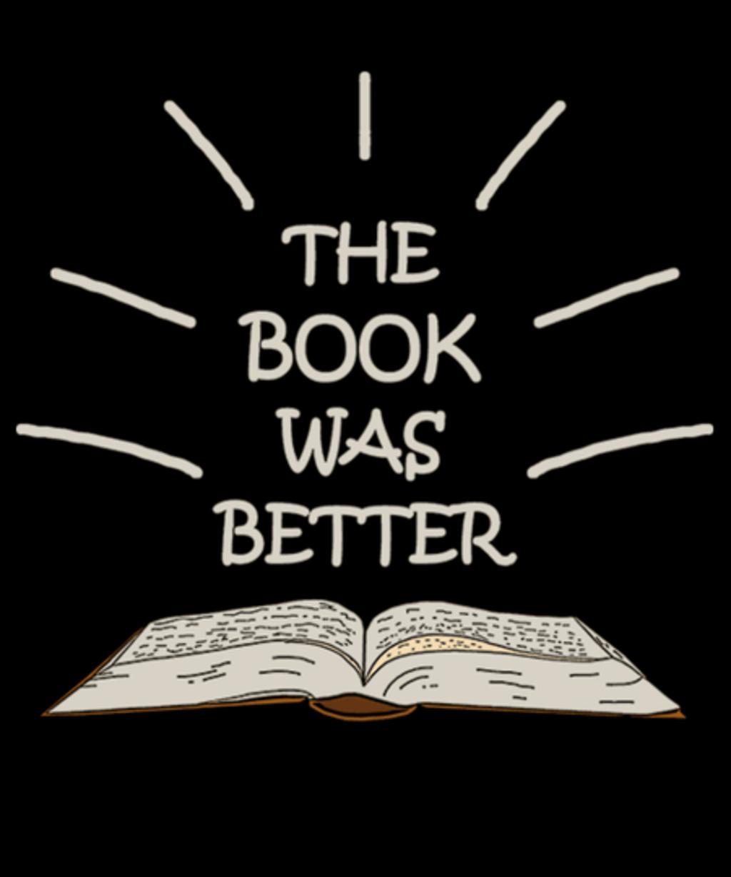 Qwertee: The book was better