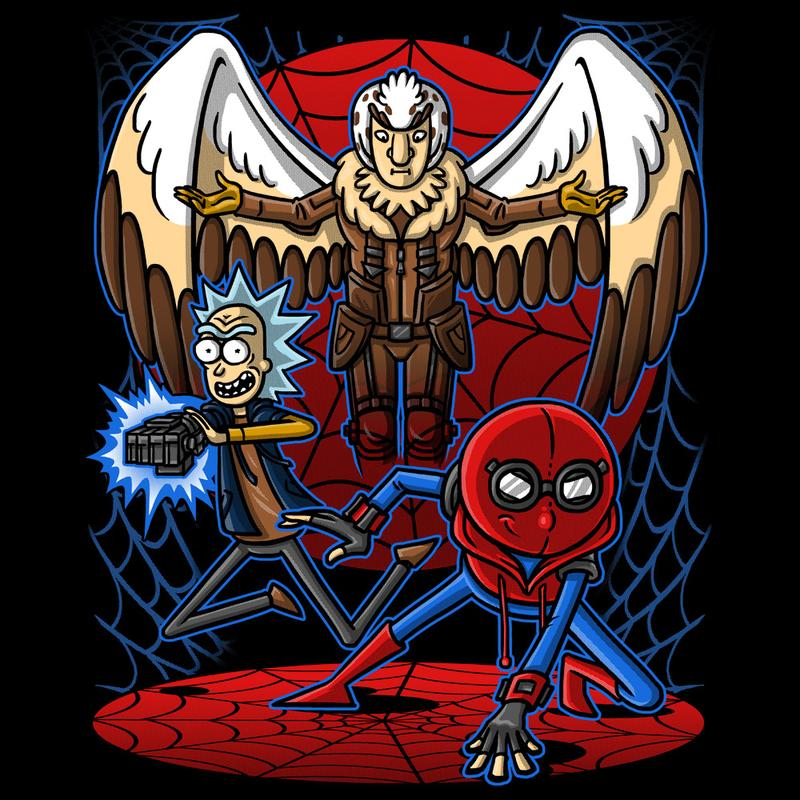 Curious Rebel: Spidermorty