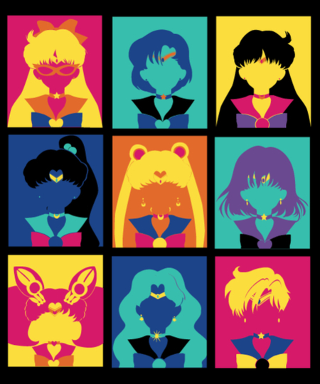 Qwertee: Sailor Pop