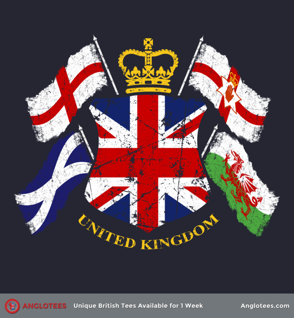 Anglotees: Vintage UK by Malcolm Watson