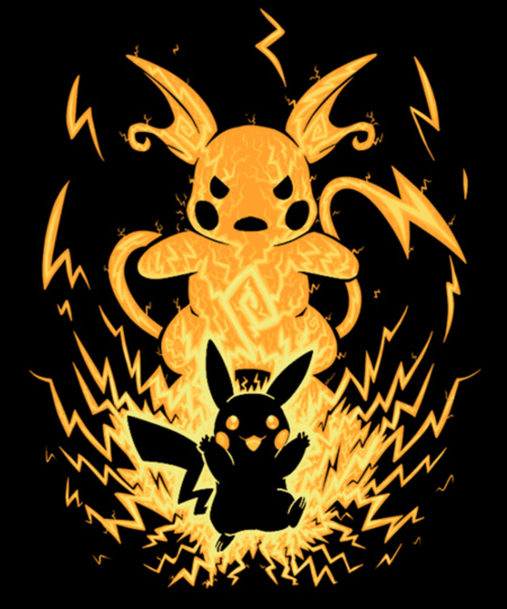Qwertee: The Electric Mouse Within
