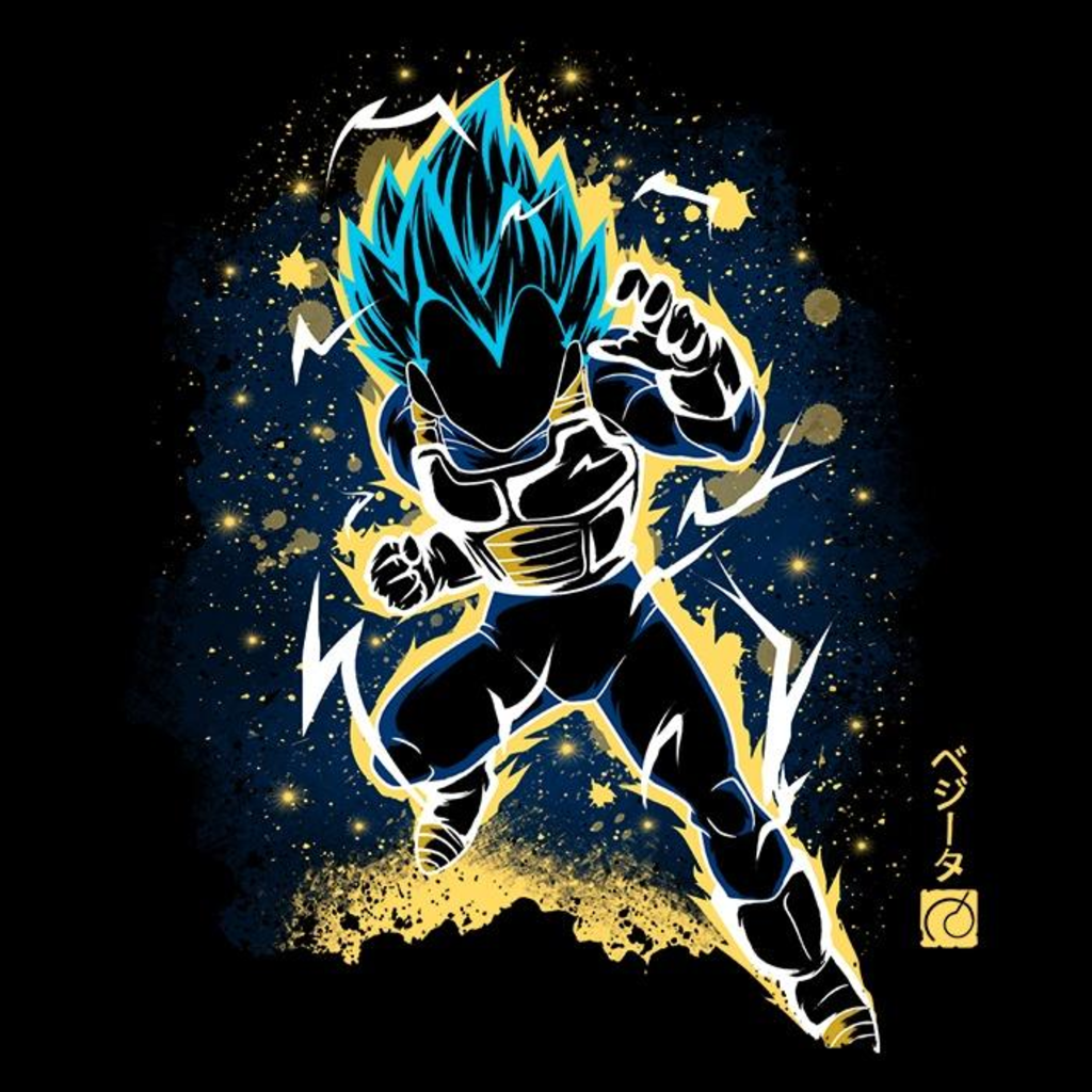 Once Upon a Tee: The Saiyan Prince