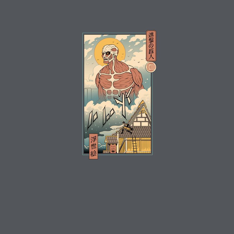TeeFury: Titan In Edo