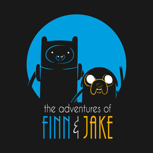 TeePublic: The adventures of Finn and Jake T-Shirts
