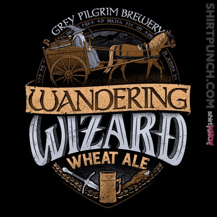 ShirtPunch: Wandering Wizard