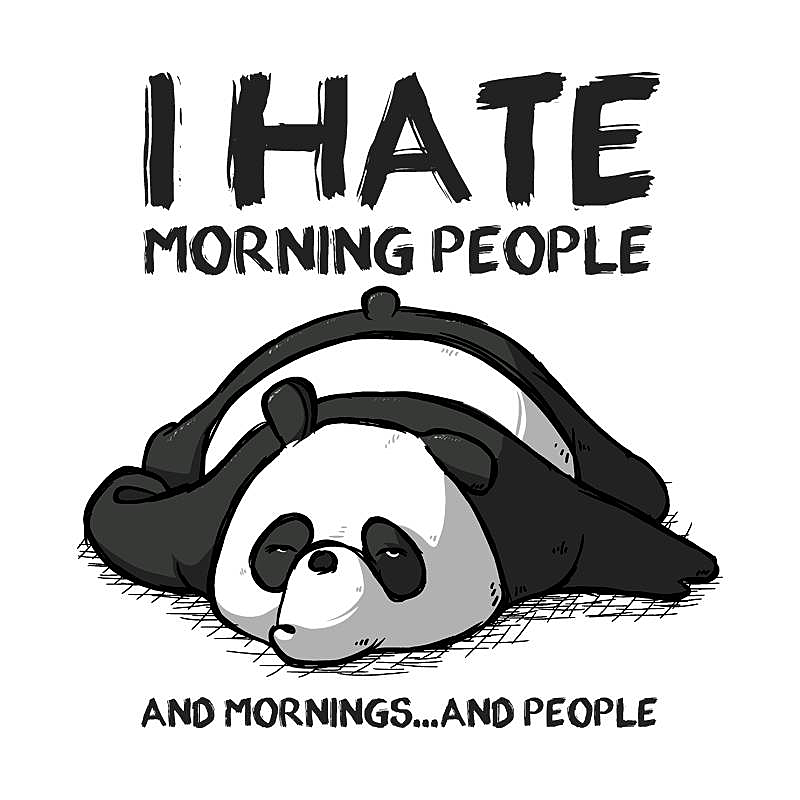 Pampling: I Hate Morning People