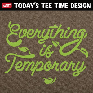 6 Dollar Shirts: Everything Is Temporary