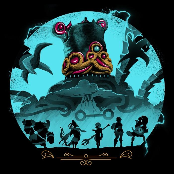 Once Upon a Tee: Hylian Guardians