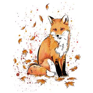 TeeTee: Fox in the Snow