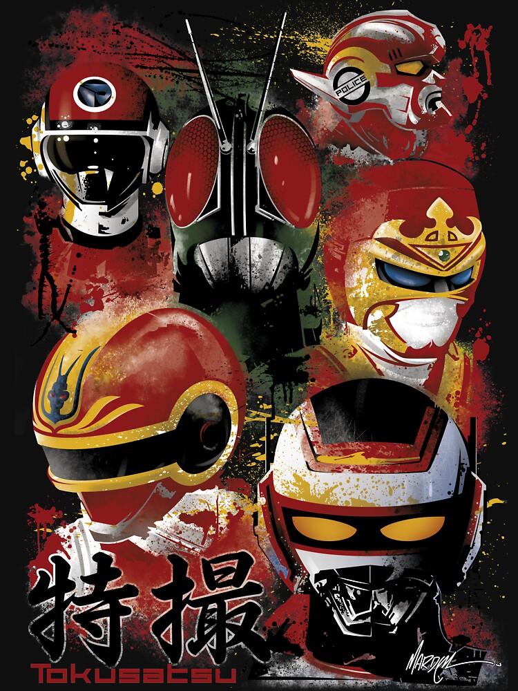 RedBubble: Tokusatsu Assemble's COLOR