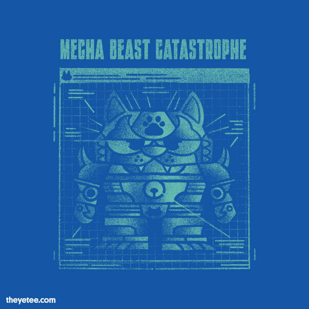The Yetee: Mecha Beast Catastrophe