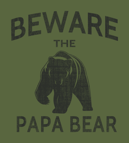 Shirt Battle: Papa Bear