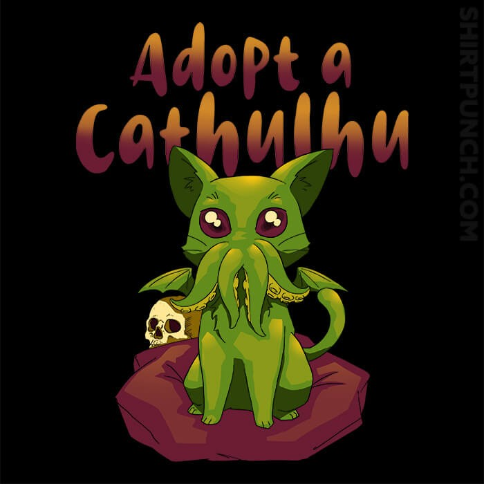 ShirtPunch: Adopt A Cathulhu