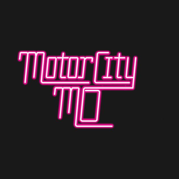 TeePublic: Motor City Mo Neon Seduction