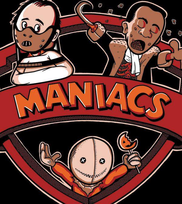 teeVillain: Maniac5