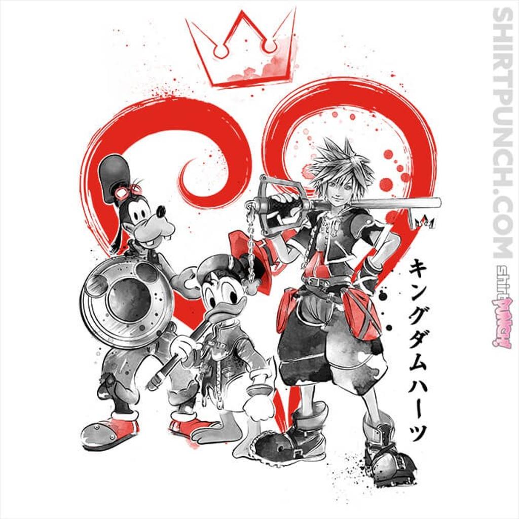 ShirtPunch: Kingdom Sumi-e