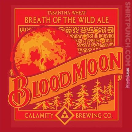 ShirtPunch: Blood Moon Beer