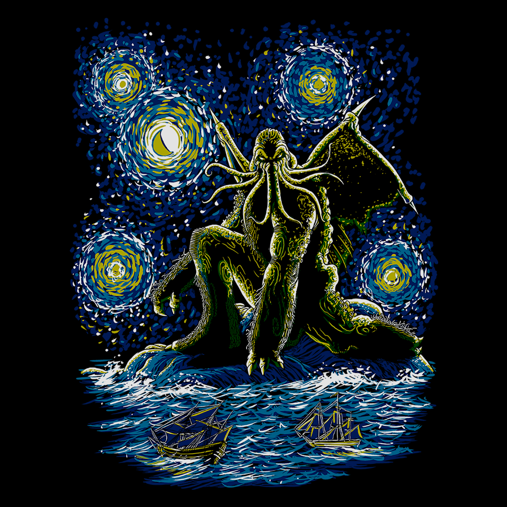 Pop-Up Tee: Night Of Cthulhu