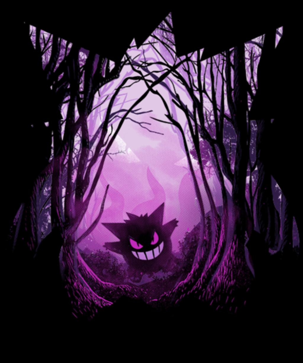 Qwertee: The poisoned forest