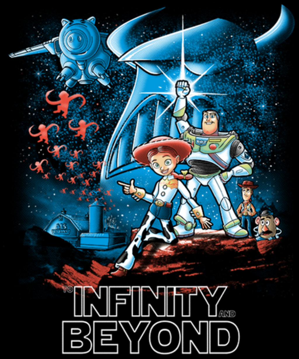 Qwertee: To infinity and beyond
