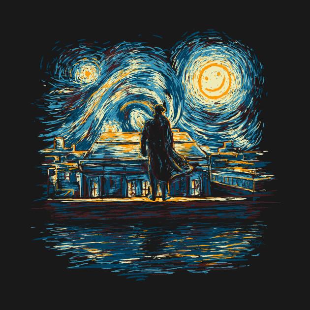 TeePublic: Starry Fall T-Shirt
