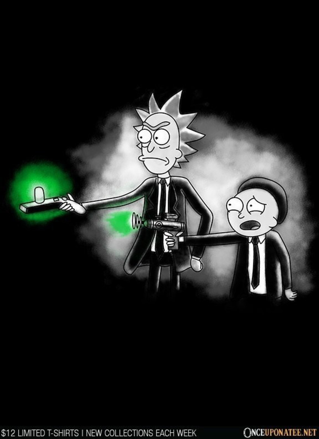 Once Upon a Tee: Pulp Ricktion