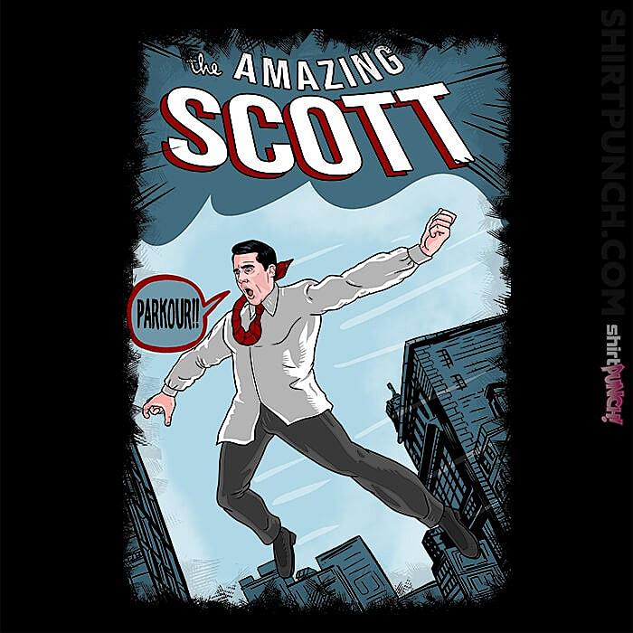 ShirtPunch: The Amazing Scott