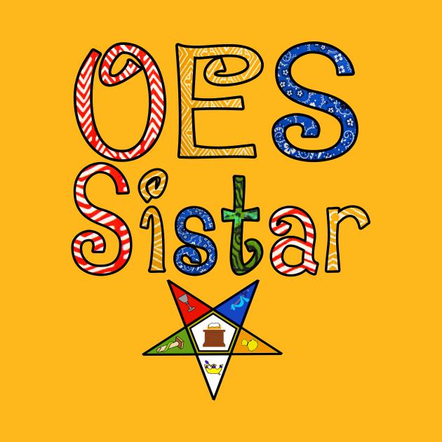 TeePublic: OES Sistar Retro & Tribal Print Design