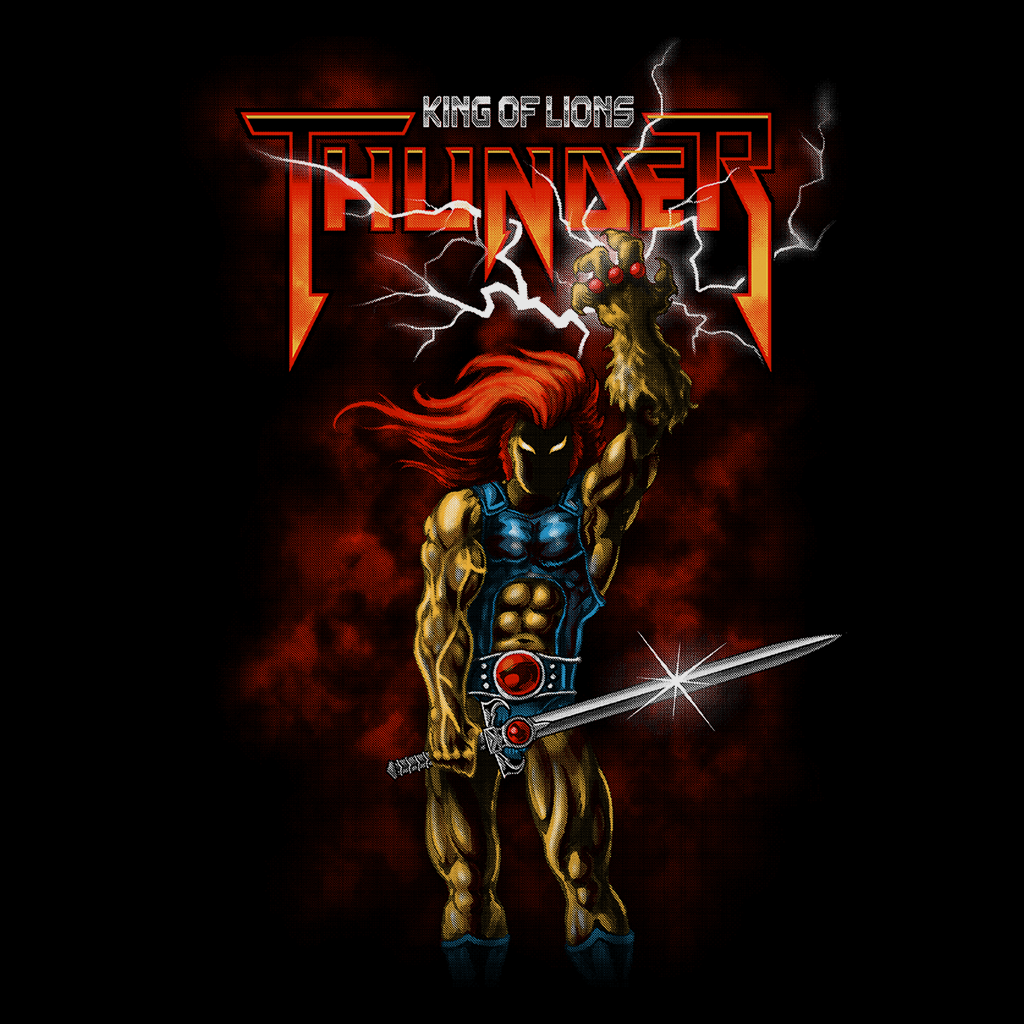 Pop-Up Tee: Thunder